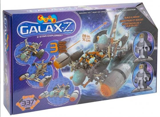 Конструктор ZOOB Sparkle GALAXY - Z Star Explorer 337 элементов 16010