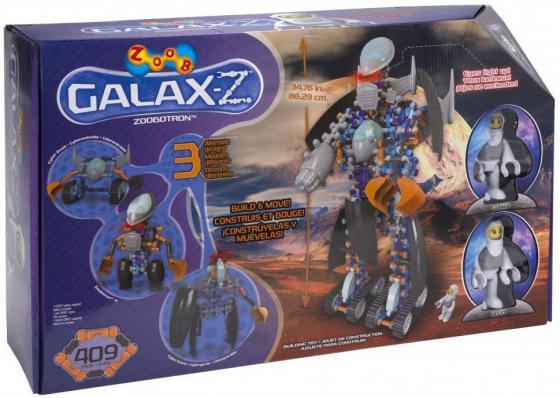 Конструктор ZOOB Zoobotron - Galaxy-Z 409 элементов 16030 конструктор zoob galax z lunar pathfinder 160210 3