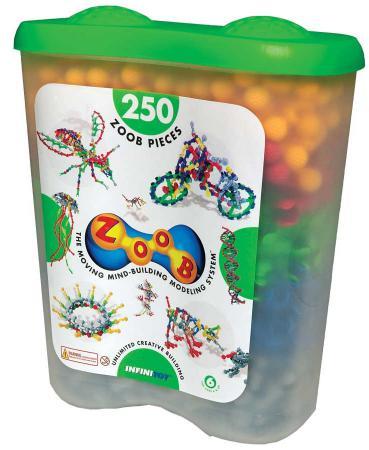 Конструктор ZOOB Sparkle 250 элементов конструктор zoob 11125 125 деталей