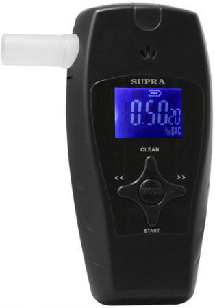 Алкотестер Supra ATS-300 черный