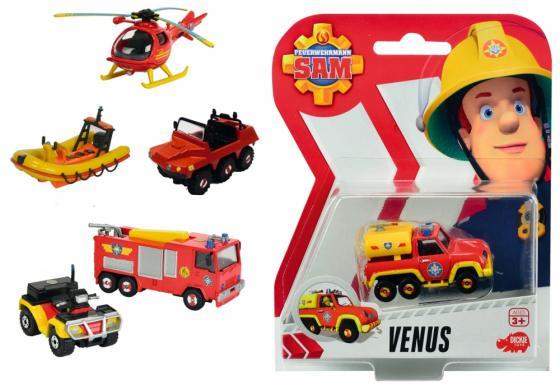 Игровой набор Dickie Пожарный Сэм 7.5 см красный 3099625 автотрек dickie simba 3083077 спайдер мэн