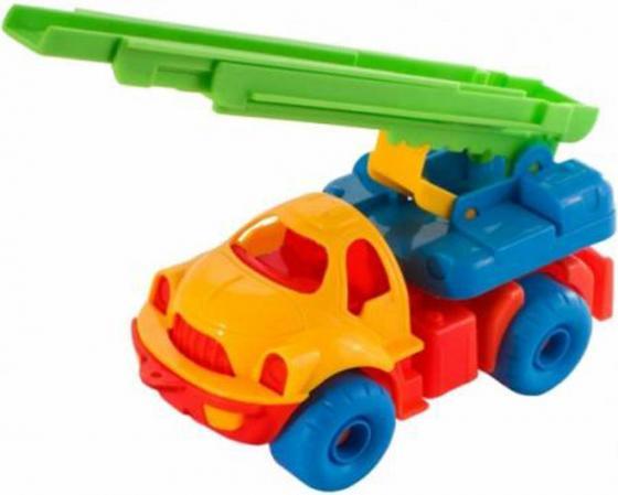 Пожарная машина Нордпласт Малыш 62 18.5 см разноцветный ассортимент 062 цена