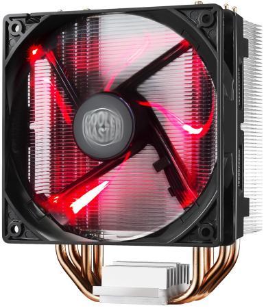 Кулер для процессора Cooler Master Hyper 212 LED Socket AM2/AM2+/AM3/AM3+/FM1/FM2/FM2+/1150/1151/1155/1156/2011/2011-3/775 RR-212L-16PR-R1 cooler noctua nh c14s 1156 1155 1150 1151 2011 2011v3 am2 am2 am3 am3 fm1 fm2 fm2 низкопрофильный