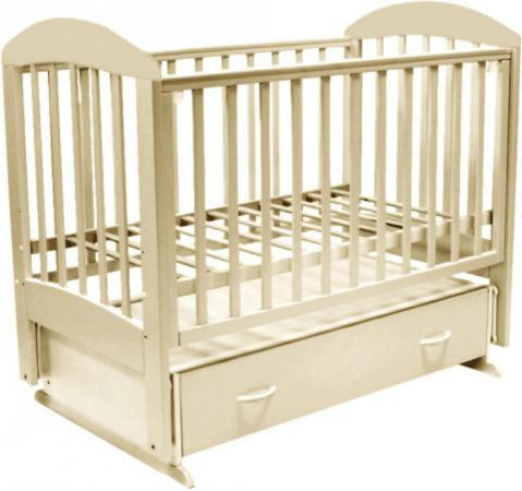 Кроватка с маятником Топотушки Дарина-6 (арт. 03/слоновая кость) кроватка топотушки дарина 1 арт 33 венге слоновая кость