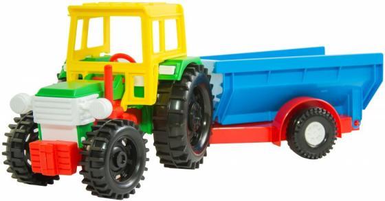 Трактор Тигрес с прицепом 36 см 39215 игрушка тигрес лейка 39189