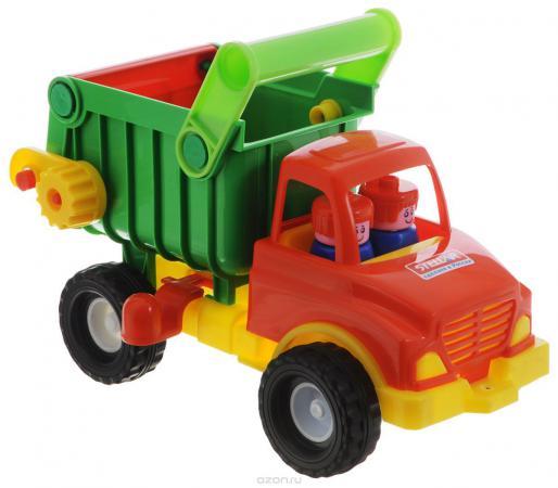 Грузовик Стеллар самосвал красный/зеленый 1401 стеллар грузовик пчелка стеллар