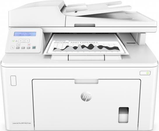 МФУ HP LaserJet Pro M227sdn G3Q74A ч/б A4 28ppm 600x600dpi Ethernet USB картридж t2 для hp tc h85a laserjet p1102 1102w pro m1132 m1212nf m1214nfh canon i sensys lbp6000 cartrige 725 1600 стр с чипом