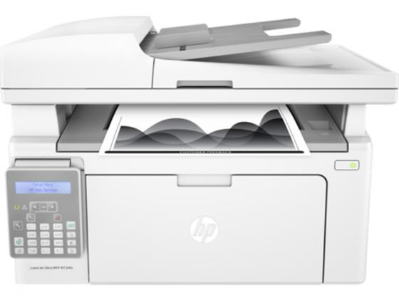 МФУ HP LaserJet Ultra MFP M134fn G3Q67A ч/б A4 22ppm 600x600dpi USB мфу xerox workcentre 5022v u ч б a3 22ppm 600x600dpi usb