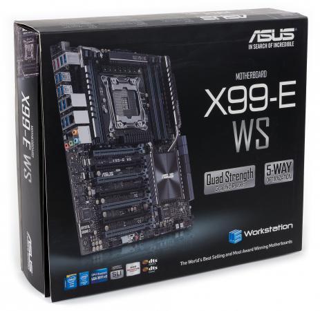 Материнская плата ASUS X99-E WS/USB 3.1 Socket 2011-3 X99 8xDDR4 7xPCI-E 16x 8xSATAIII SSI CEB Retail asus a3v купить б у