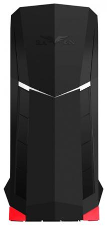 Корпус ATX SilverStone Raven SST-RVX01 Без БП чёрный красный корпус silverstone case ss grandia gd06b black sst gd06b