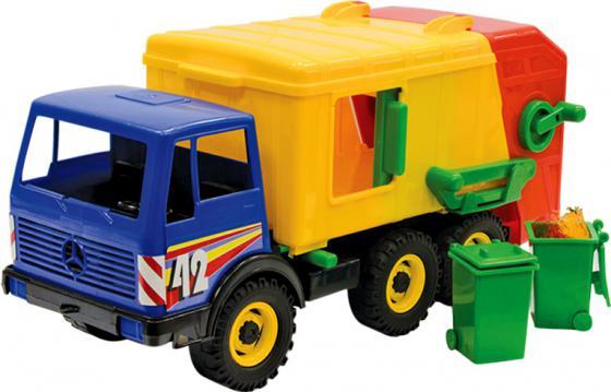 Мусоровоз Лена 3х осный 23 см разноцветный 8812 мусоровоз лена 3х осный 23 см разноцветный 8812