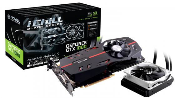 Купить Видеокарта 8192Mb Inno3D GeForce GTX 1080 iChill Black PCI-E 256bit GDDR5X DVI HDMI DP HDCP C108B-3SDN-P6DNX Retail, InnoVISION