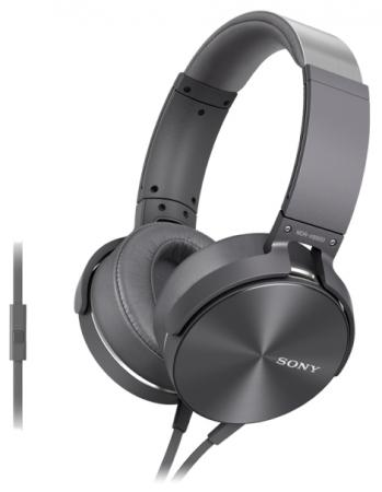Гарнитура Sony MDR-XB950AP серебристый цена и фото