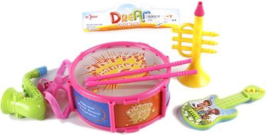 Набор музыкальных инструментов Shantou Gepai Dream, 4 предмета  782-3