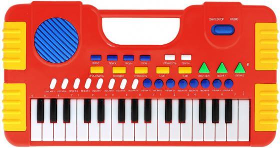 Синтезатор Shantou Gepai Я звезда, 32 клавиши SD984-A ложка кулинарная nadoba flava цвет черный оранжевый длина 31 см