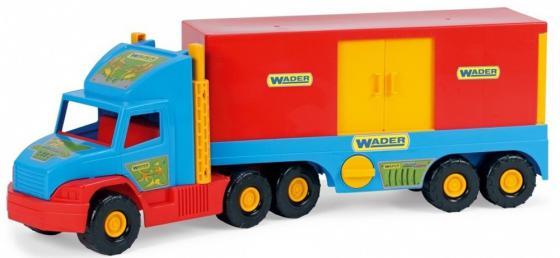 Машина Wader Фургон 78 см разноцветный ассортимент 36510 бетономешалка wader super truck 58 5 см разноцветный 36590