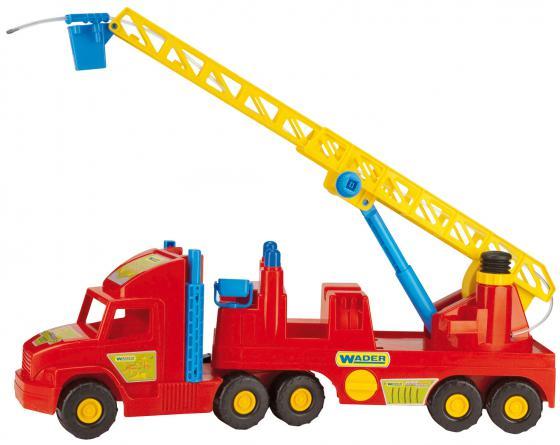 Машина Wader Пожарная машина 78 см красный  36570 лесовоз wader 9531 красный 52 см
