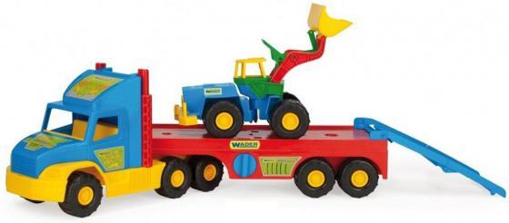 Машина Wader Super Truck 78 см разноцветный ассортимент 36520 бетономешалка wader super truck 58 5 см разноцветный 36590