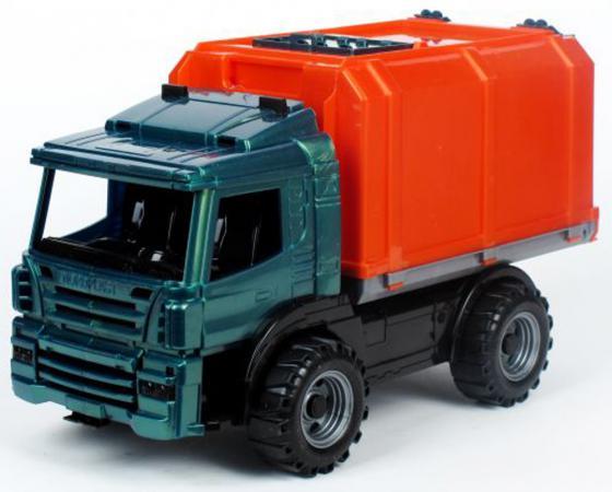 Машина Нордпласт Фургон Спецтехника 39 см оранжевый фургон нордпласт конвой зеленый 266