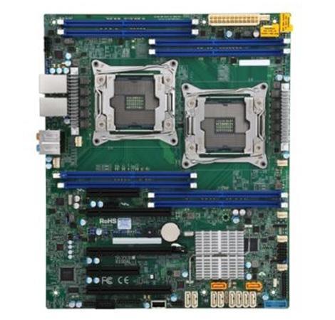 Материнская плата Supermicro MBD-X10DAL-I-O 2 х Socket 2011-3 C612 8xDDR4 2xPCI-E 16x 2xPCI-E 4x 1xPCI-E 8x 10xSATAIII ATX Retail материнская плата для пк supermicro mbd x10slh f o socket 1150 c226 4xddr3 1xpci e 4x 2xpci e 8x 6xsataiii matx oem