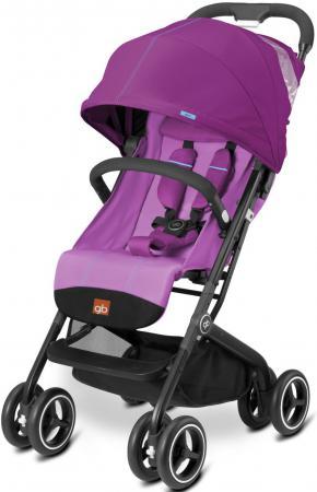 Прогулочная коляска GB Qbit Plus (posh pink) коляска gb коляска прогулочная qbit posh pink