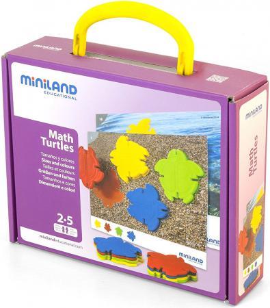 Настольная игра развивающая Miniland Черепашкина математика 31797