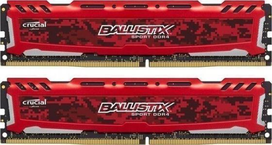 все цены на Оперативная память 8Gb (2x4Gb) PC4-19200 2400MHz DDR4 DIMM Crucial BLS2C4G4D240FSE онлайн