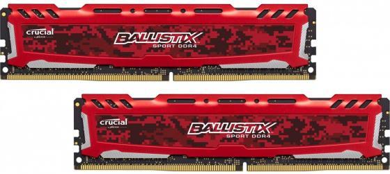 Оперативная память 16Gb (2x8Gb) PC4-19200 2400MHz DDR4 DIMM Crucial BLS2C8G4D240FSE цена