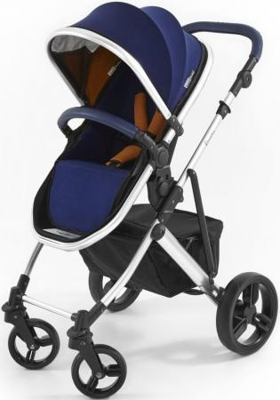 Коляска 2-в-1 Tutti Bambini Riviera (шасси silver цвет midnight blue) коляска 2 в 1 esspero grand newborn lux шасси black royal silver