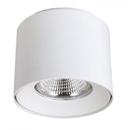 Потолочный светодиодный светильник Crystal Lux CLT 522C138 WH crystal lux торшер crystal lux jewel pt2 wh