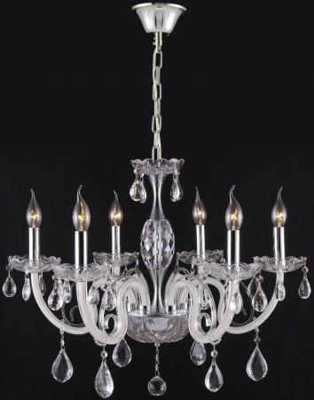 Подвесная люстра Crystal Lux Glamour SP-PL6 подвесная люстра crystal lux paola pl6