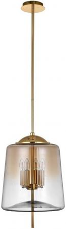 Подвесная люстра Crystal Lux Milagro SP4 B Gold подвесная люстра crystal lux krus sp4 boll