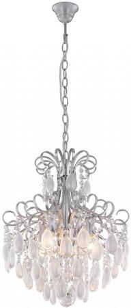 Подвесная люстра Crystal Lux Sevilia SP4 Silver люстра crystal lux fontain sp8