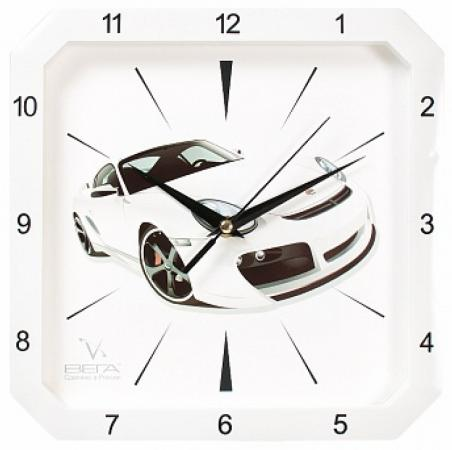 Часы настенные Вега П4-7610/7-48 белый часы настенные вега пейзаж п4 3 7 82 зелёный