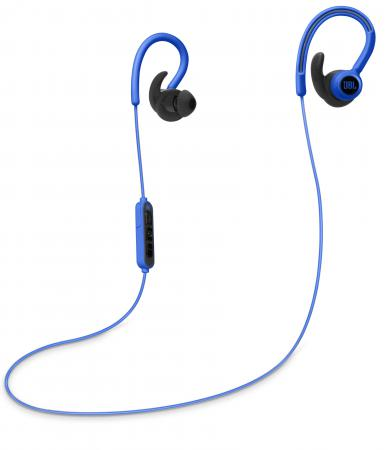 Наушники JBL Reflect Contour беспроводные синий наушники jbl t100a белые