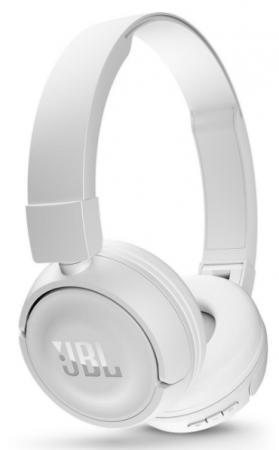 Купить Наушники JBL T450BT беспроводные белые, белый
