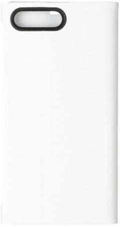 Чехол-подставка Sony SCSF20 для Xperia X белый blue абрикос дерево дизайн кожа pu откидной крышки кошелек карты держатель чехол для sony x performance