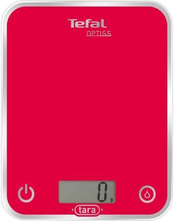 Весы кухонные Tefal BC5003V1 красный кухонные весы аксион вке 21