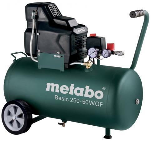 Компрессор Metabo Basic250-50W OF безмасляный 601535000 компрессор metabo power 280 20 w of 601545000