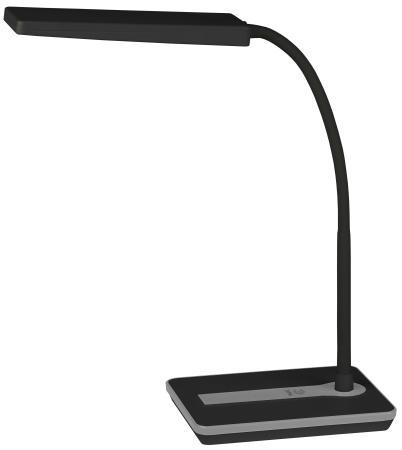 Настольная лампа ЭРА NLED-446-9W-BK черный лампа эра ne 303 e14 15w bk black б0001688