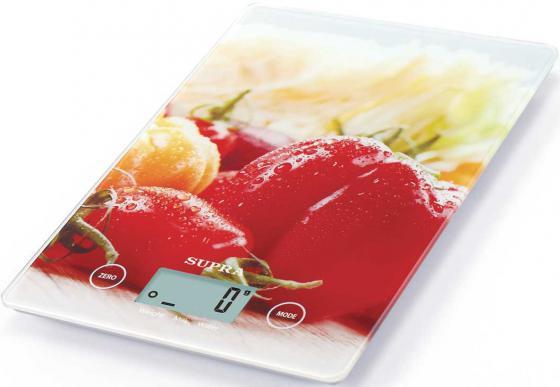 Весы кухонные Supra BSS-4201 красный