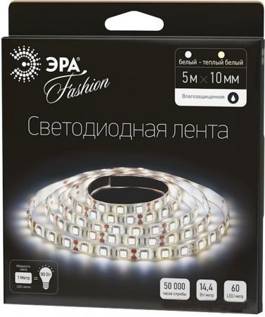 цена на Лента светодиодная линейная Эра LS5050-60LED-IP65-WW LED 12W 4500K
