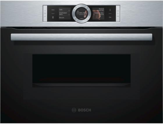 Электрический шкаф Bosch CMG636BS1 серебристый