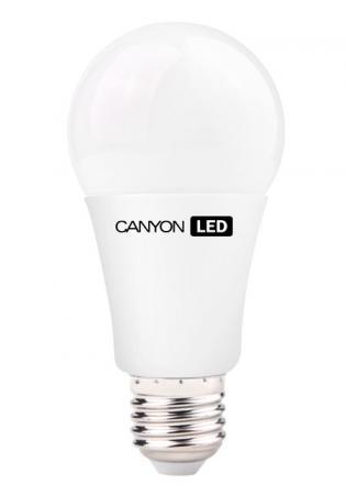 Лампа светодиодная груша Canyon AE27FR12W230VN E27 12W 4000K лампа светодиодная canyon led be14cl6w230vn