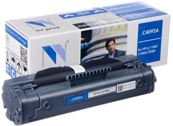 Картридж NV-Print C4092A/EP-22 для HP LJ1110/1100A/3200/Canon 800/810/1120 2500стр картридж nv print совместимый canon ep 22 для lbp 800 810 1120 hp lj 1100 1100a чёрный 2500 страниц