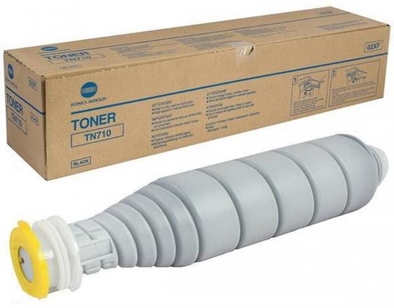 Тонер Konica Minolta TN-710 для bizhub 601/751 55000стр best price eco solvent printer flora spare parts lj320k lj3208k konica km 1024 print head flat data cable 50 pin 1pc for sale