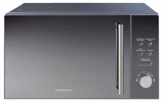 Микроволновая печь Horizont 20MW700-1479BKB 1050 Вт чёрный серый микроволновая печь bbk 23mws 927m w 900 вт белый