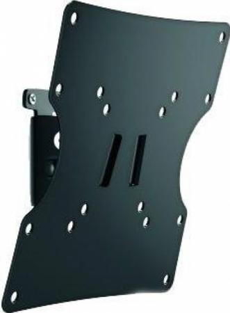 Кронштейн Holder LCD-T2502-B черный для ЖК ТВ 17-40 настенный поворот наклон до 30 кг кронштейн для тв wize wup55 black