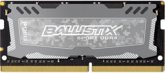 Оперативная память для ноутбука 16Gb (1x16Gb) PC4-19200 2400MHz DDR4 SO-DIMM CL16 Crucial BLS16G4S240FSD цена