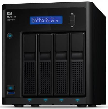 Сетевое хранилище WD My Cloud Pro PR4100 WDBKWB0160KBK-EEUE цены онлайн